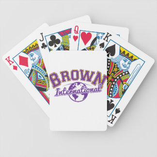BrownLogo_Color.ai Bicycle Playing Cards