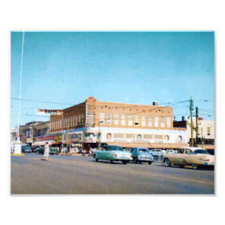 Brown's Department Store Photo Print