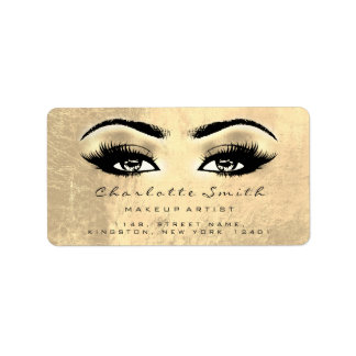 Browns Faux Gold Makeup Lashes Stylst Beauty RSVP Label