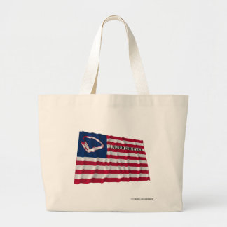 Brown's Flag of Independence Canvas Bags