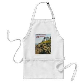 Browns Head Lighthouse, Maine Cooking Apron