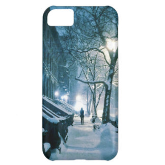 Brownstones Blanketed In Snow iPhone 5C Case