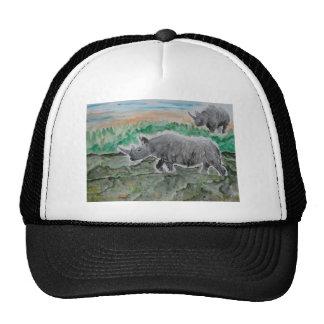 Browsing Rhinos Trucker Hats