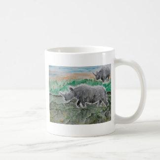 Browsing Rhinos Mugs