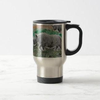 Browsing Rhinos Mug