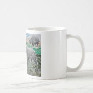 Browsing Rhinos Coffee Mugs