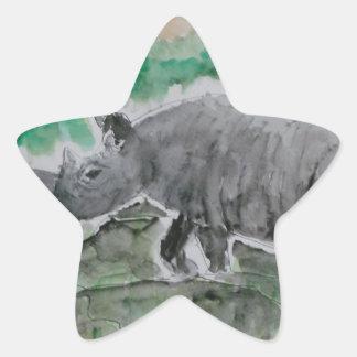 Browsing Rhinos Star Sticker