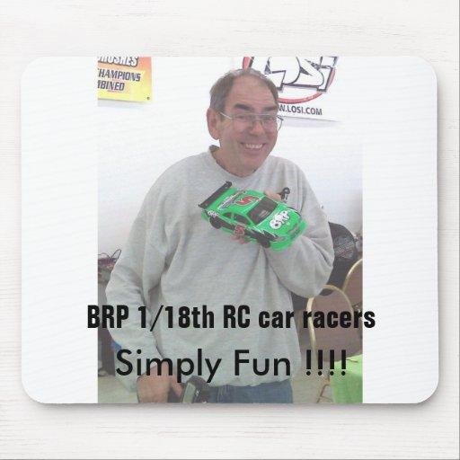 BRP racing BRP RC Car Racers Mousepad