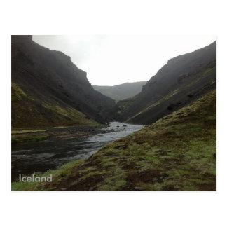 Bruararskord, Iceland Postcard