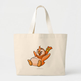 Bruce Orange Jumbo Tote Bag