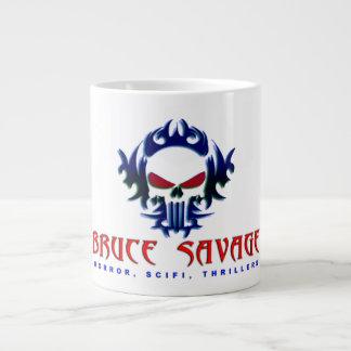 BRUCE SAVAGE JUMBO COFFEE MUG. LARGE COFFEE MUG
