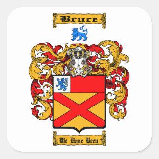 Bruce Square Sticker