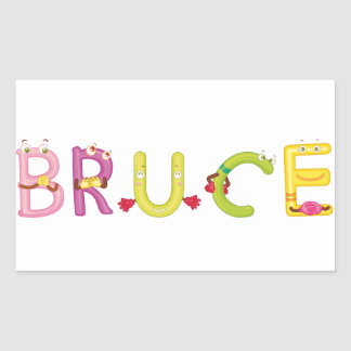 Bruce Sticker