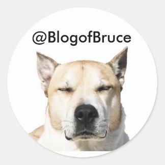 Bruce''s Sticker !
