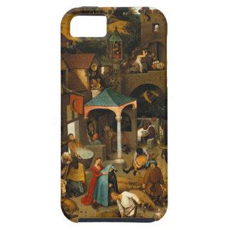 Bruegel Netherlandish Proverbs Tough iPhone 5 Case