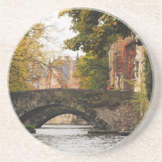 Bruges, Belgium Canals Drink Coaster