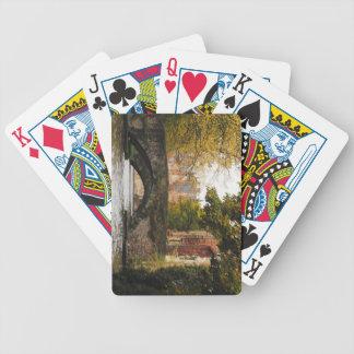 Bruges, Belgium Canals Poker Deck