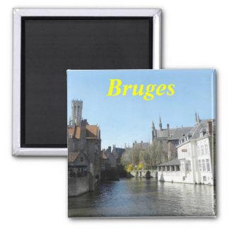 Bruges Belgium magnet