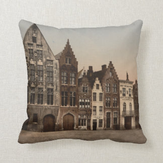 Bruges Library, Belgium Cushion