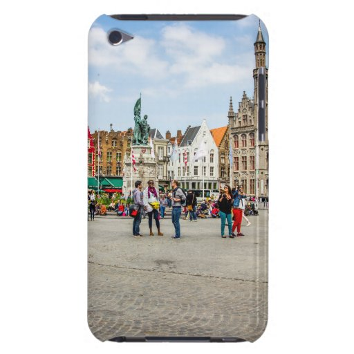 Bruges Market Place Photograph Barely There iPod Case