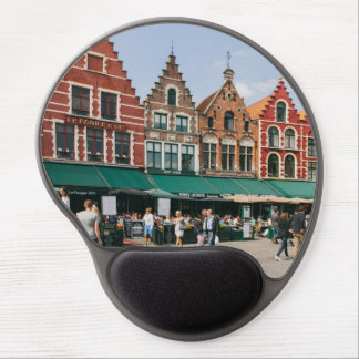 Bruges Old Buildings Travel Photography Gel Mouse Pad