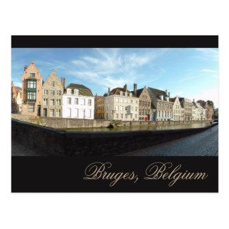 Bruges Panorama Postcard