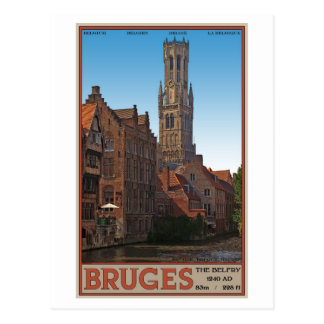 Brugge - The Belfry Postcard