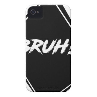 """Bruh"" Word Design Case-Mate iPhone 4 Case"