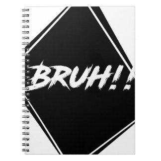 """Bruh"" Word Design Notebooks"