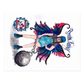 Bruise Fairy post card