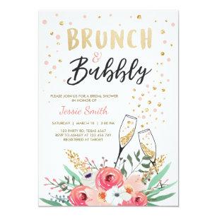 bridal brunch invitations announcements zazzle au