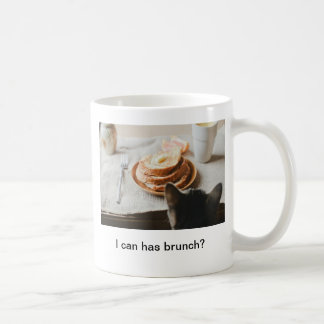 Brunch Cat Mug