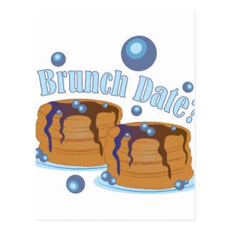Brunch Date Postcard
