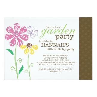 garden birthday party invitations & announcements   zazzle.au, Party invitations