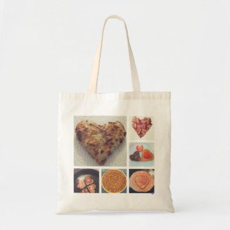 Brunch Hearts Tote Bag