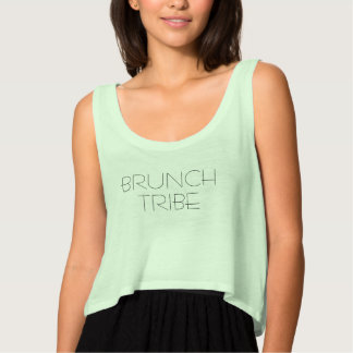 BRUNCH TRIBE Cropped Top Cool Girl Gifts