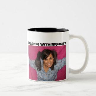 BRUNCH WITH BRIDGET Two-Tone COFFEE MUG