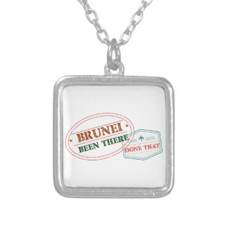 Brunei Been There Done That Silver Plated Necklace
