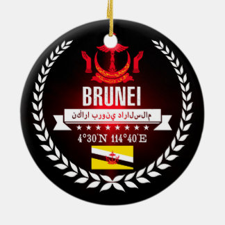 Brunei Ceramic Ornament
