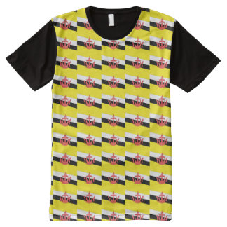 Brunei Flag All-Over Print T-Shirt