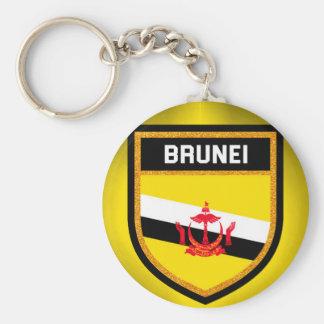 Brunei Flag Key Ring