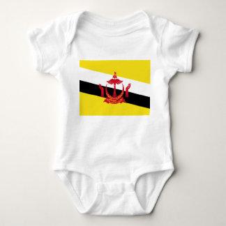 Brunei National World Flag Baby Bodysuit