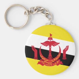 Brunei National World Flag Key Ring