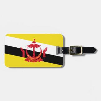 Brunei National World Flag Luggage Tag