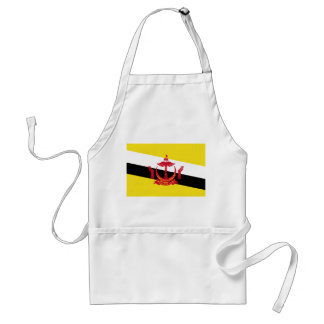 Brunei National World Flag Standard Apron