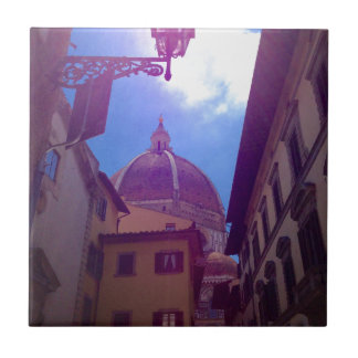 Brunelleschi Dome in Florence, Italy Ceramic Tile