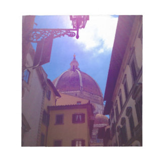 Brunelleschi Dome in Florence, Italy Notepad