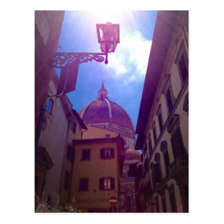 Brunelleschi Dome in Florence, Italy Postcard