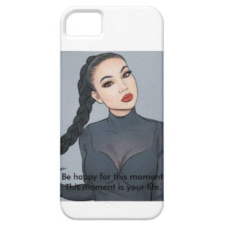 Brunette girl Phone CASE/Cover for small mobile iPhone 5 Covers