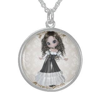 Brunette Princess Necklace